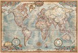 Educa Puzzle 1000 Parça Political Map Of The World Minyatür 16764
