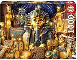 Educa Puzzle 1000 Parça Treasures Of Egypt 16751