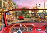 Educa Puzzle 1500 Parça Paris in A Car 16768