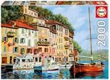 Educa Puzzle 2000 Parça La Barca Rossa Alla Calata, Guido Borelli 16776