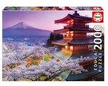Educa Puzzle 2000 Parça Mount Fuji, Japan 16775