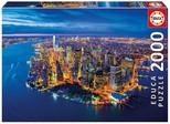 Educa Puzzle 2000 Parça New York Aerial View 16773
