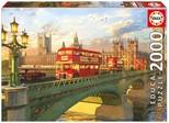 Educa Puzzle 2000 Parça Westminster Bridge, London 16777