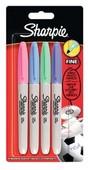 Sharpie Fine Permanent markör,Pastel renkler 4'lü Bls