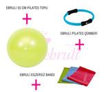 Ebruli Pilates Genç Set Yeşil AKSQQQSET159