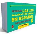 Las 100 Palabras Mas Usadas En Espanol - İspanyolca Sözcük Kartları 2