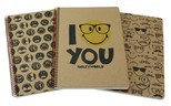 Smiley Kraft Defter A4 100 Yp Kareli