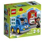 Lego Duplo Şehir Police Patrol 10809