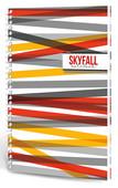 Lecolor Skyfall Notebook 17X24 Spiralli 120 Yp Kareli 2016030/2