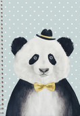 Panda  PP Kapak A4 80 Yp Çizgili Defter
