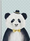 Panda PP Kapak A4 80 Yp Kareli Defter