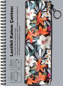 Tyvek Kalem Çantası Lastikli/Paradise Flower 14224-1