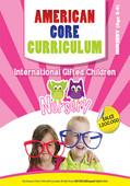 American Core Curriculum - Age 3-4
