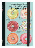 Small Photo Weekly Diary With Notebook 16 Aylık 2016/2017 - Donuts
