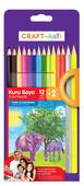Craft and Arts Kuru Boya 12+2