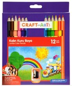 Craft and Arts Kuru Boya Jumbo 12'li