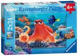 Ravensburger 2x24 Parça Puzzle WD F Dory 91034
