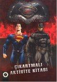 Batman ve Süperman Çıkartmalı Aktivite Kitabı