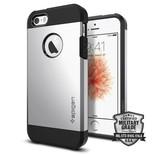 Spigen iPhone 5/5s/SE Kılıf Tough Armor Satin Silver 041CS20251