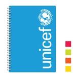 Unicef Defter Mavi