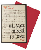 Legami All You Need Is Love Kart K054181