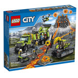Lego-City Volcano Exp Base LSC60124