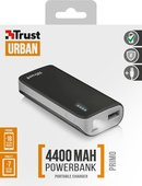 Trust Urban Primo PowerBank 4400 Portable Charger - black 21224