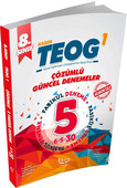 8. Sınıf TEOG 1 Çözümlü Güncel Denemeler 5'li
