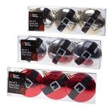 PMS Yılbaşı Süsü - Kemerli Disk 3'lü
