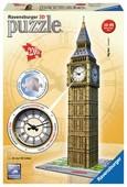 Ravensburger 3D Big Ben Clock Plastik Puzzle 125869