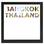 decARTHOME Bangkok Anı Çerçevesi Siyah