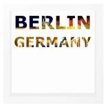 decARTHOME Berlin Anı Çerçevesi Beyaz