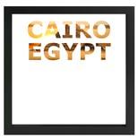 decARTHOME Kahire Anı Çerçevesi Siyah