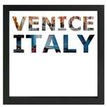 decARTHOME Venedik Anı Çerçevesi Siyah
