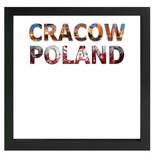 decARTHOME Krakow Anı Çerçevesi Siyah
