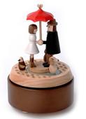 Wooderful Life Love Umbrella - Aşk Şemsiyesi Müzik Kutusu