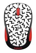 Logitech M238 Wireless Mouse-ZIGZAG RED