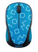 Logitech M238 Wireless Mouse-GEO BLUE