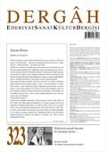 Dergah Edebiyat Sanat Sayı 323