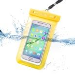 Celly Su Geçirmez Akıllı Telefon Kılıfı Sarı SPLASHUNIYL