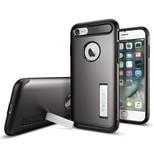 Spigen iPhone 7 Kılıf, Slim Armor Gun Metal