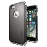 Spigen iPhone 7 Kılıf, Hybrid Armor Gun Metal