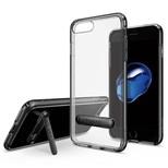 Spigen iPhone 7 Plus Kılıf, Ultra Hybrid S Jet Black