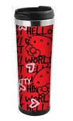 Trendix Mug Model Mataralar - Hello Kitty Kırmızı