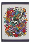 Istisna-Music 80 Yaprak A5 Defter (160129)
