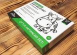 Bebeklere Özel Algıyı Geliştirici Zeka Kartları-Kutulu Çiftlik Hayvanları Seti