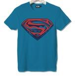 Frocx Superman Logo Erkek Tişört - M
