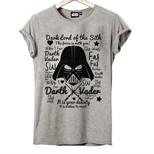 Frocx Star Wars Dark Lord Kadın Tişört - M