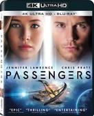 Passengers - Uzay Yolcuları 4K UHD + BD