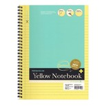 Mor.Gl. Notebook Yel. Perfo. A4